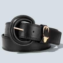 Solid Buckle Belt