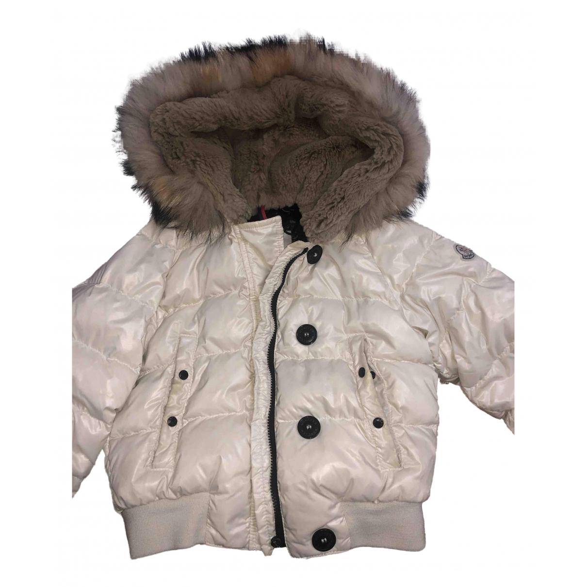 Moncler - Manteau   pour femme - blanc