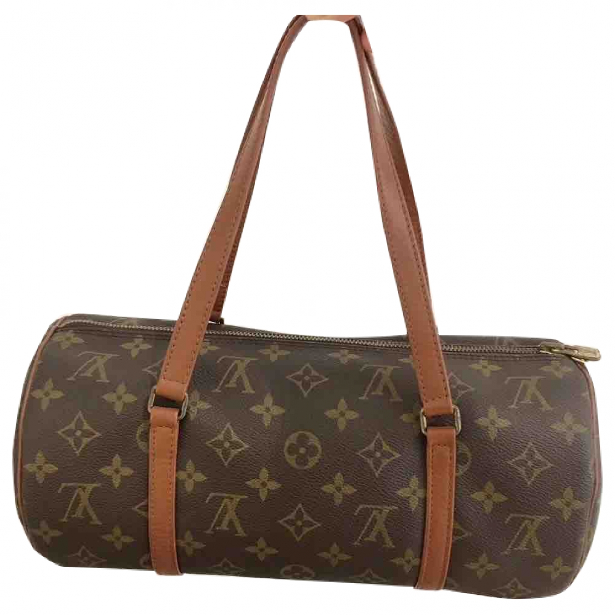 Louis Vuitton Papillon Blue Cloth handbag for Women \N