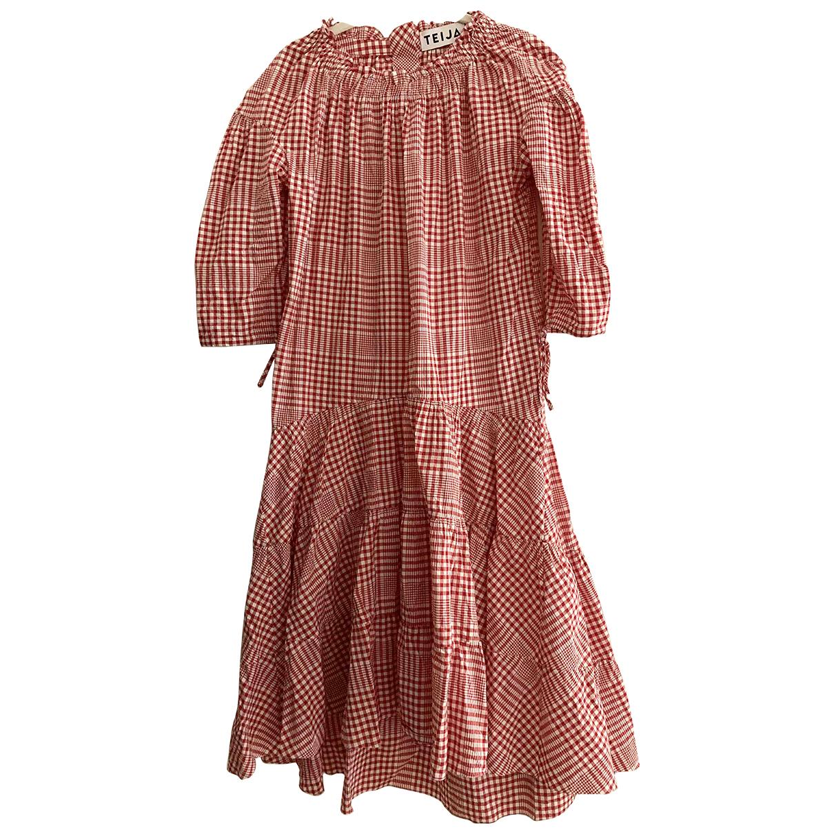 Teija \N Kleid in  Bunt Baumwolle