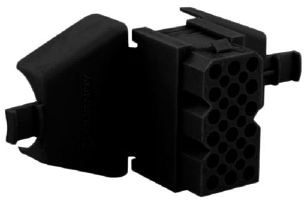 Souriau , SMS Female Connector Housing, 18 Way, 6 Row (5)