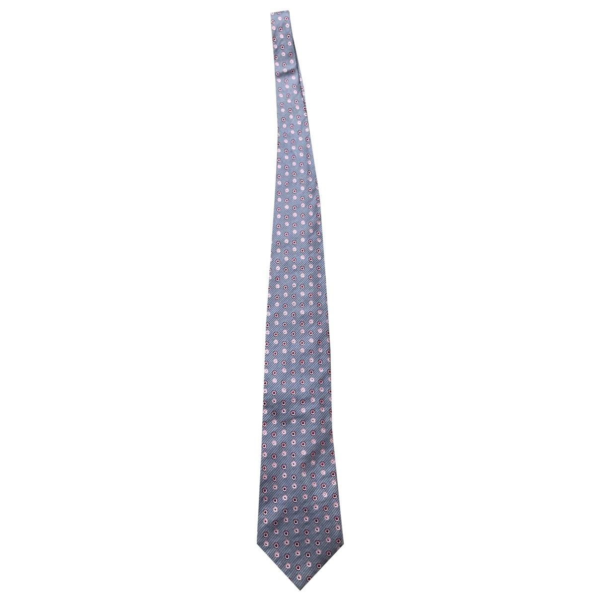 Paul Smith - Cravates   pour homme en soie - gris