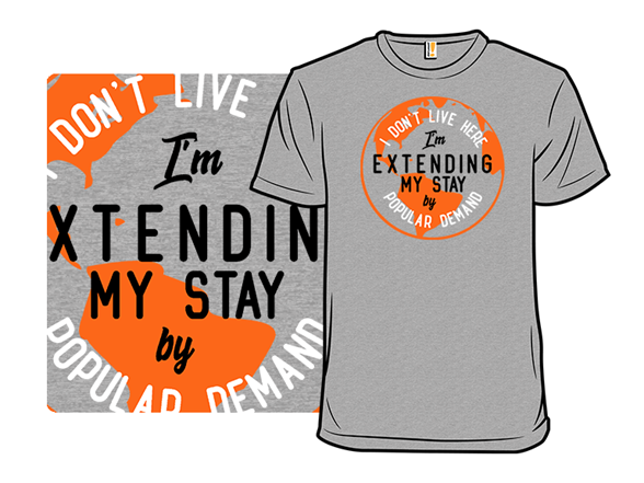 I Don't Live Here T Shirt