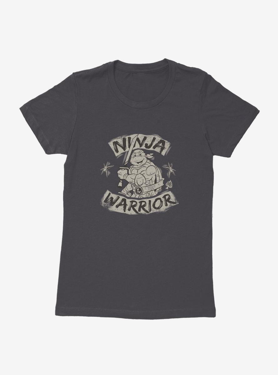 Teenage Mutant Ninja Turtles Leonardo Ninja Warrior Womens T-Shirt