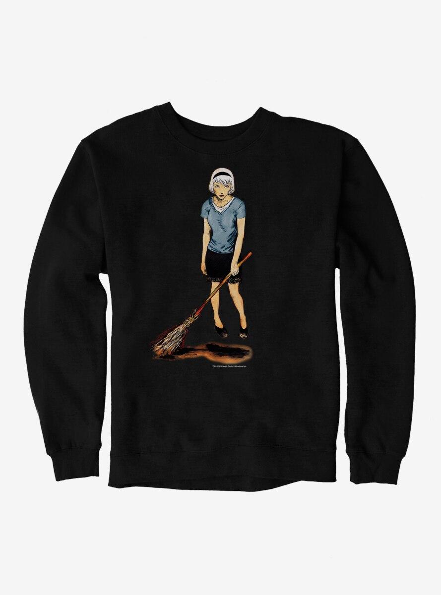 Archie Comics Chilling Adventures of Sabrina Broom Sweatshirt