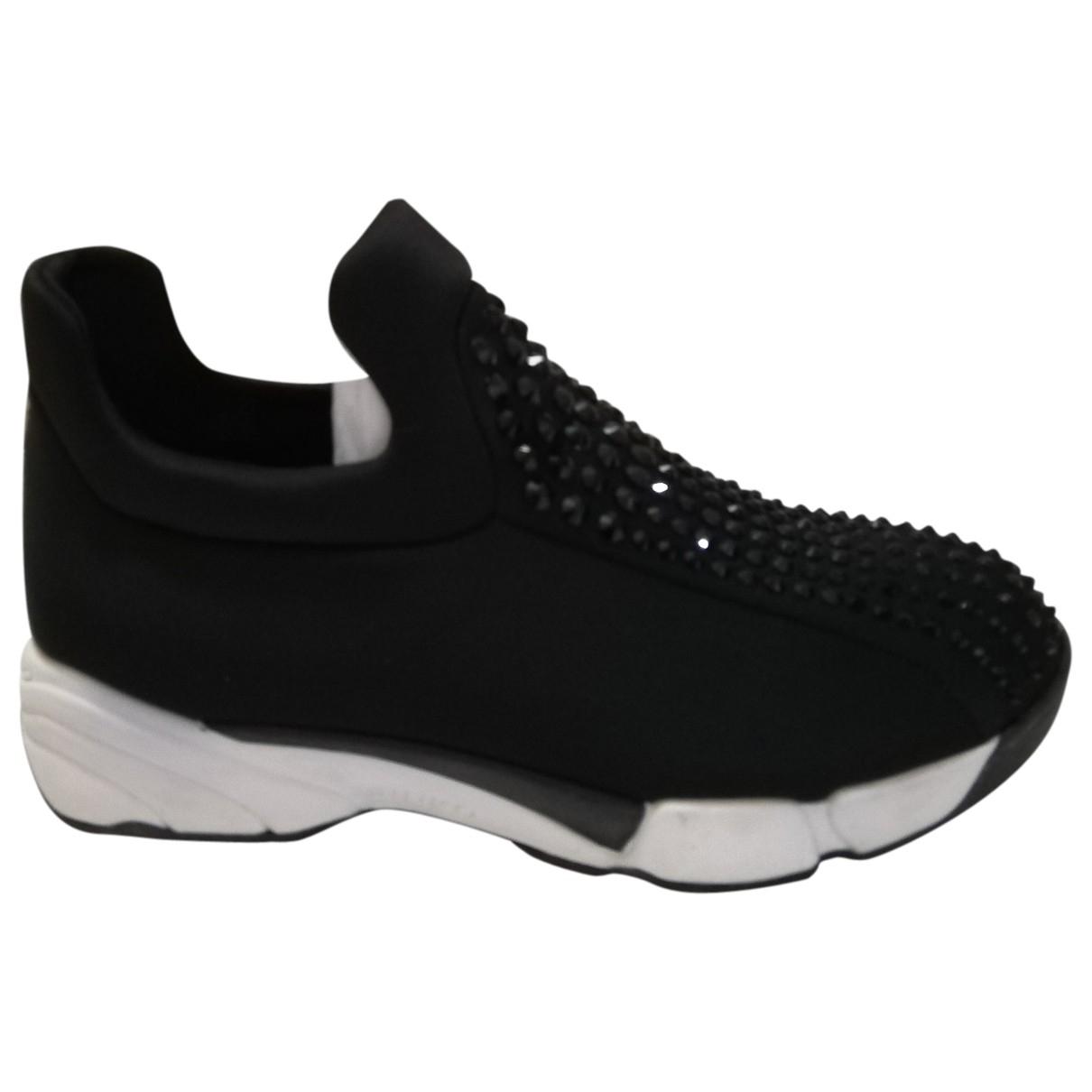 Pinko \N Black Glitter Trainers for Women 35 EU
