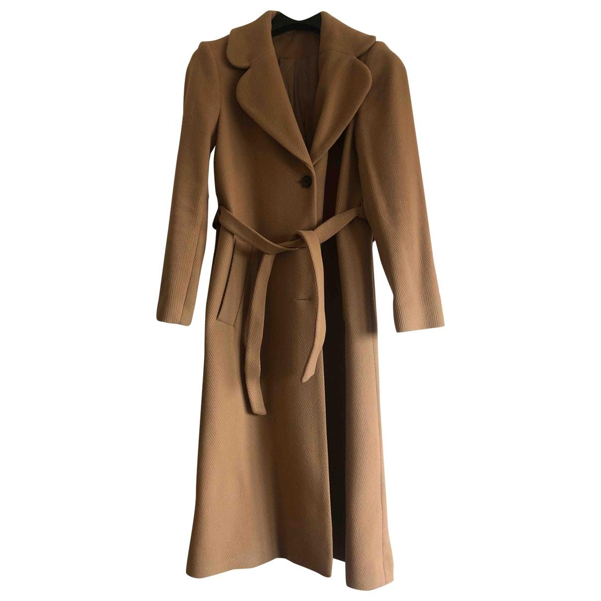 & Stories \N Beige Wool coat for Women 38 FR