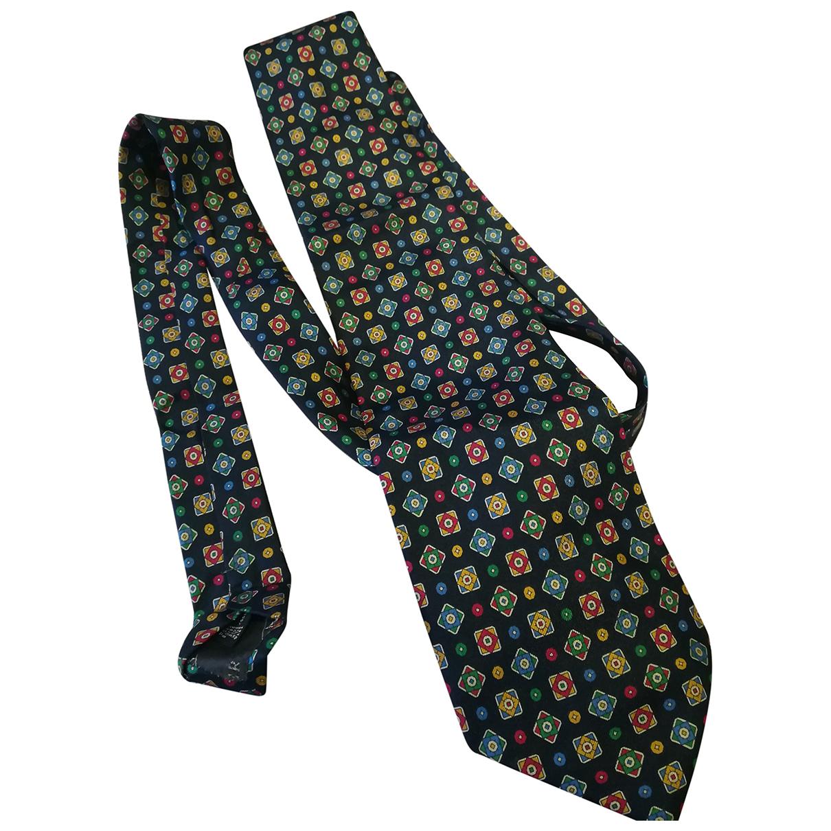 Valentino Garavani - Cravates   pour homme en soie - bleu