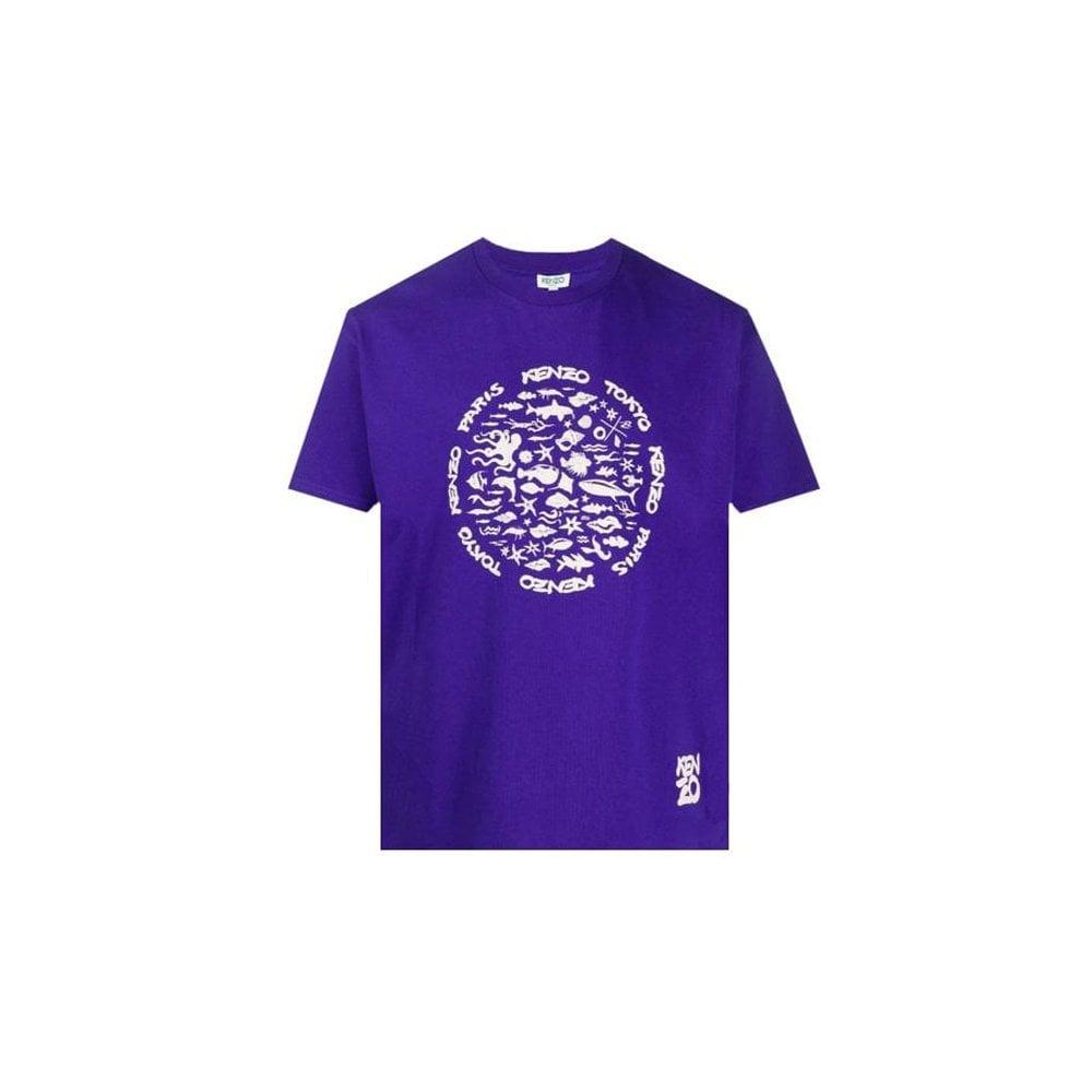 Kenzo Tokyo Tshirt Size: MEDIUM, Colour: PURPLE