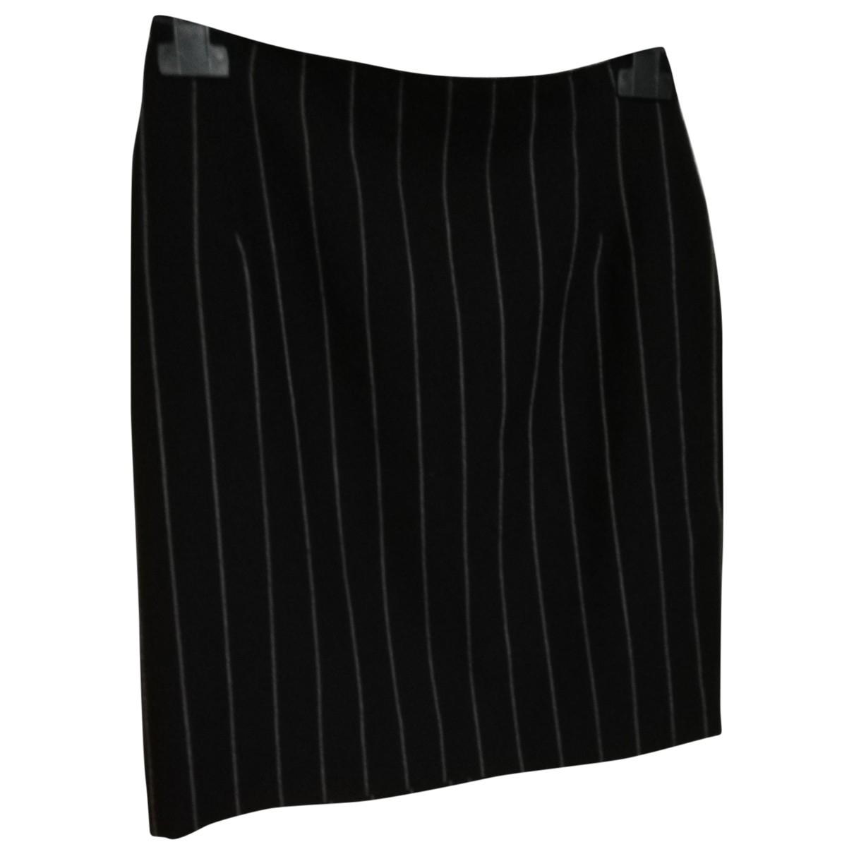 Krizia \N Anthracite Wool skirt for Women 44 IT