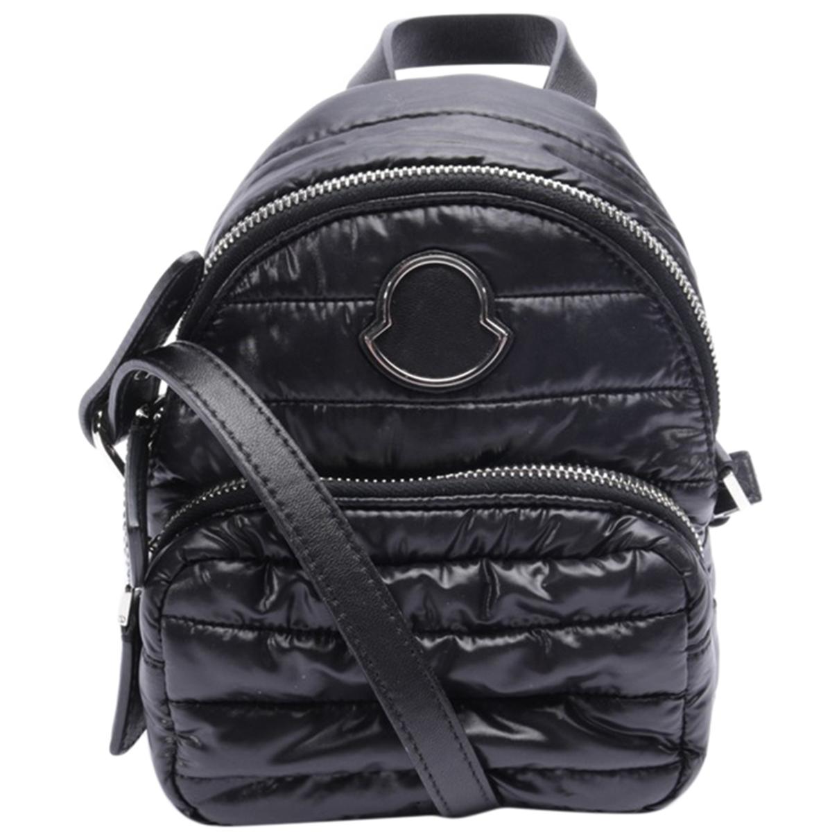 Moncler \N Handtasche in  Schwarz Synthetik