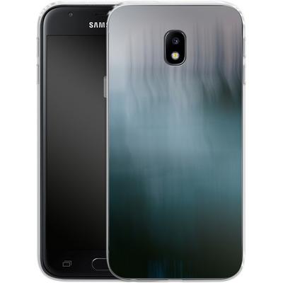 Samsung Galaxy J3 (2017) Silikon Handyhuelle - Twilight Sea Abstract von Joy StClaire
