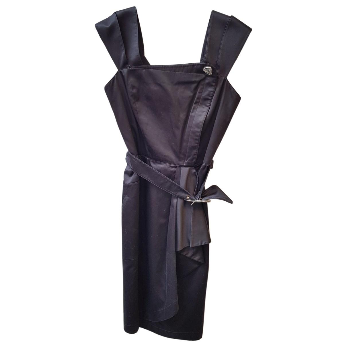 Thierry Mugler - Robe   pour femme en coton - noir