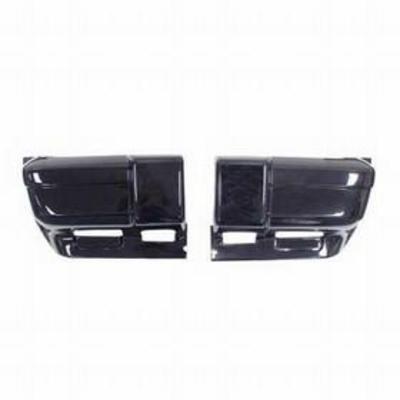 Crown Automotive Front Bumper Cap (Black) - 5DY01TZZAC
