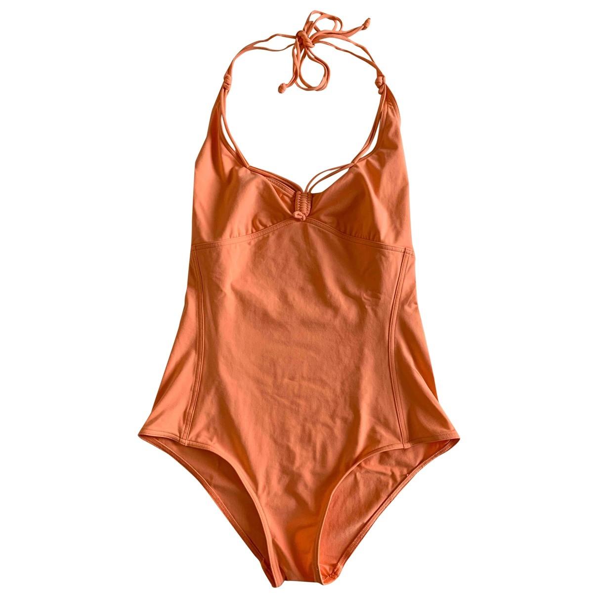 Eres \N Badeanzug in  Orange Synthetik