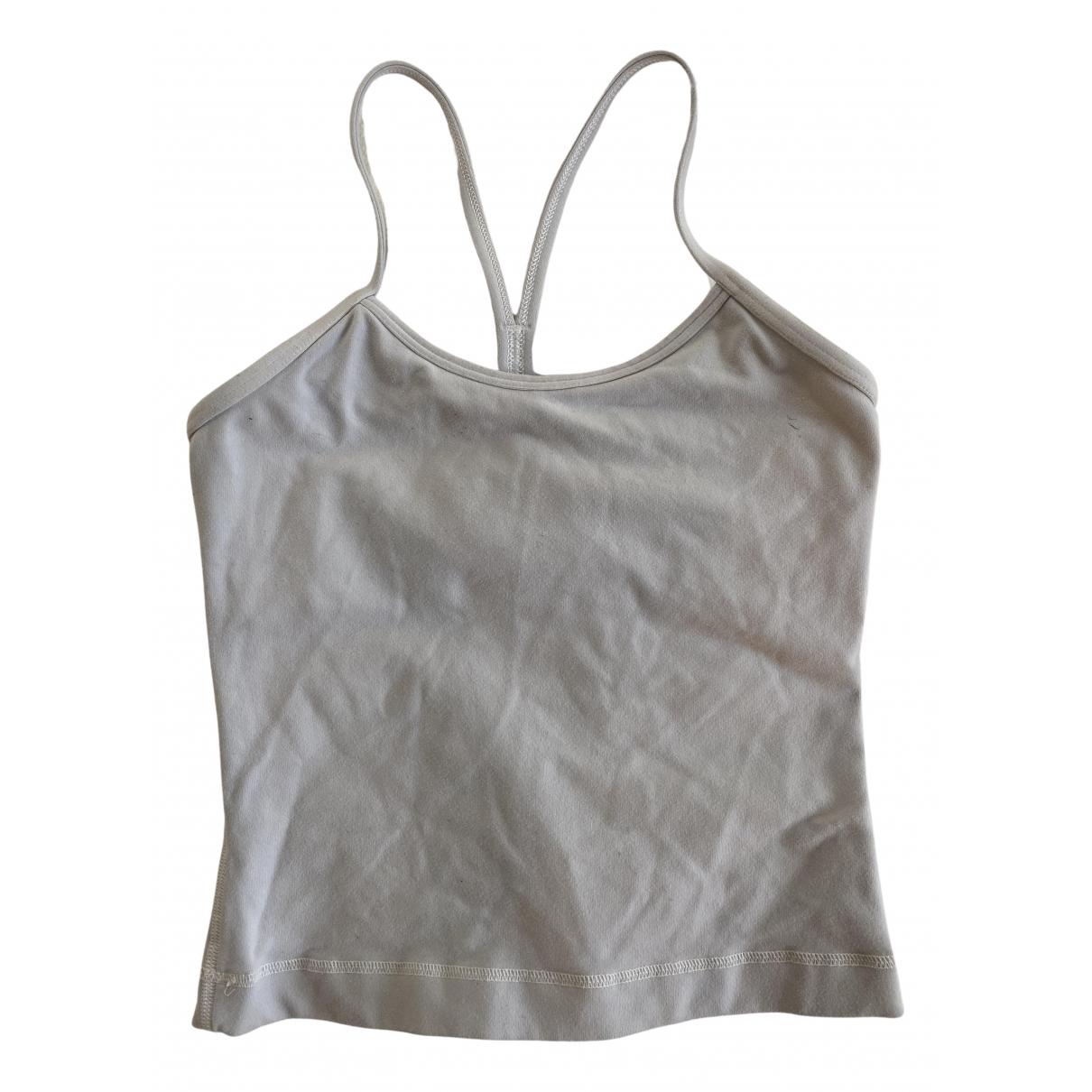 Lululemon - Top   pour femme en coton - blanc