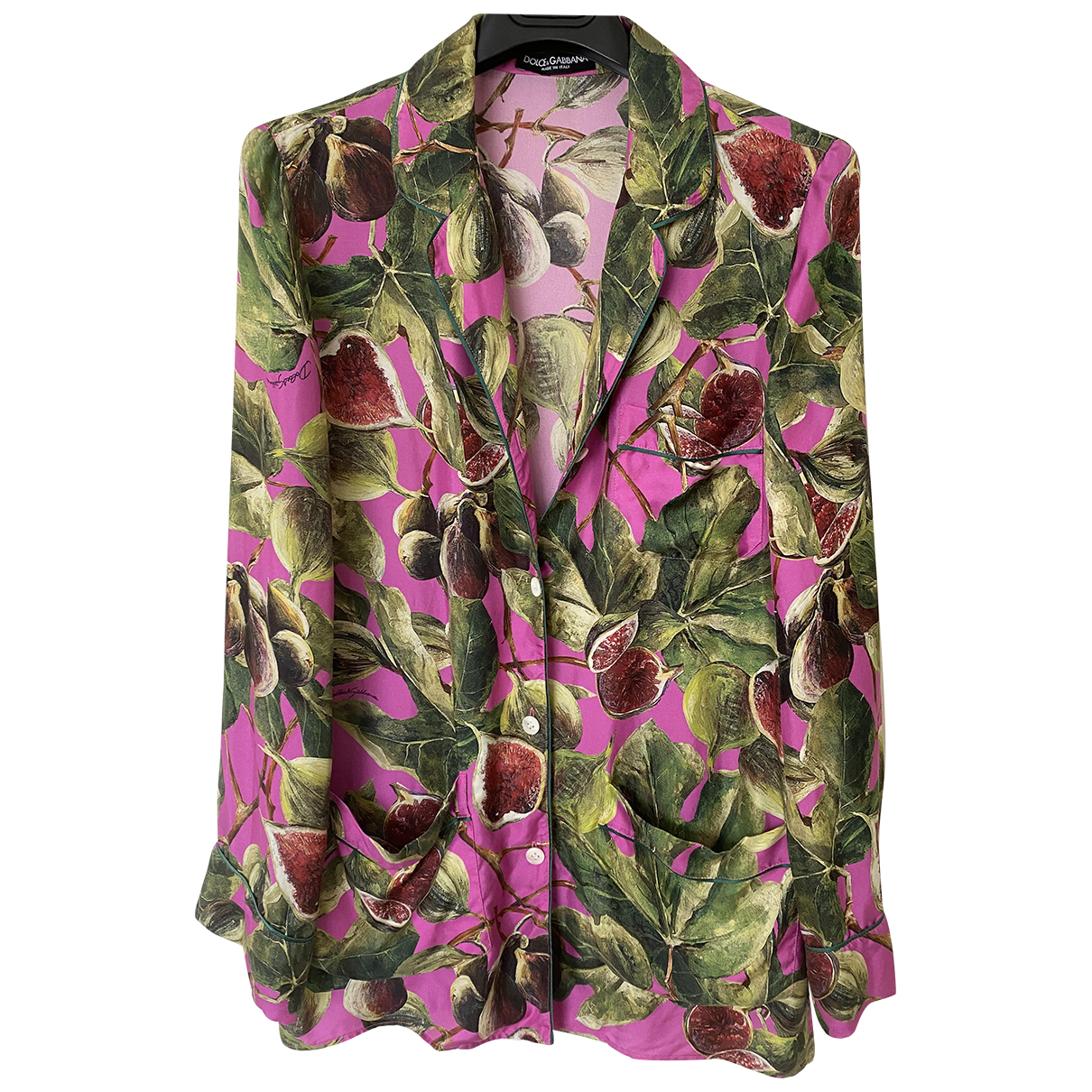 Dolce & Gabbana N Multicolour Silk  top for Women 38 FR
