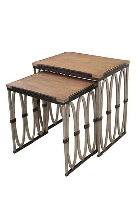 Belmont 800404FG Nesting Table in Florence