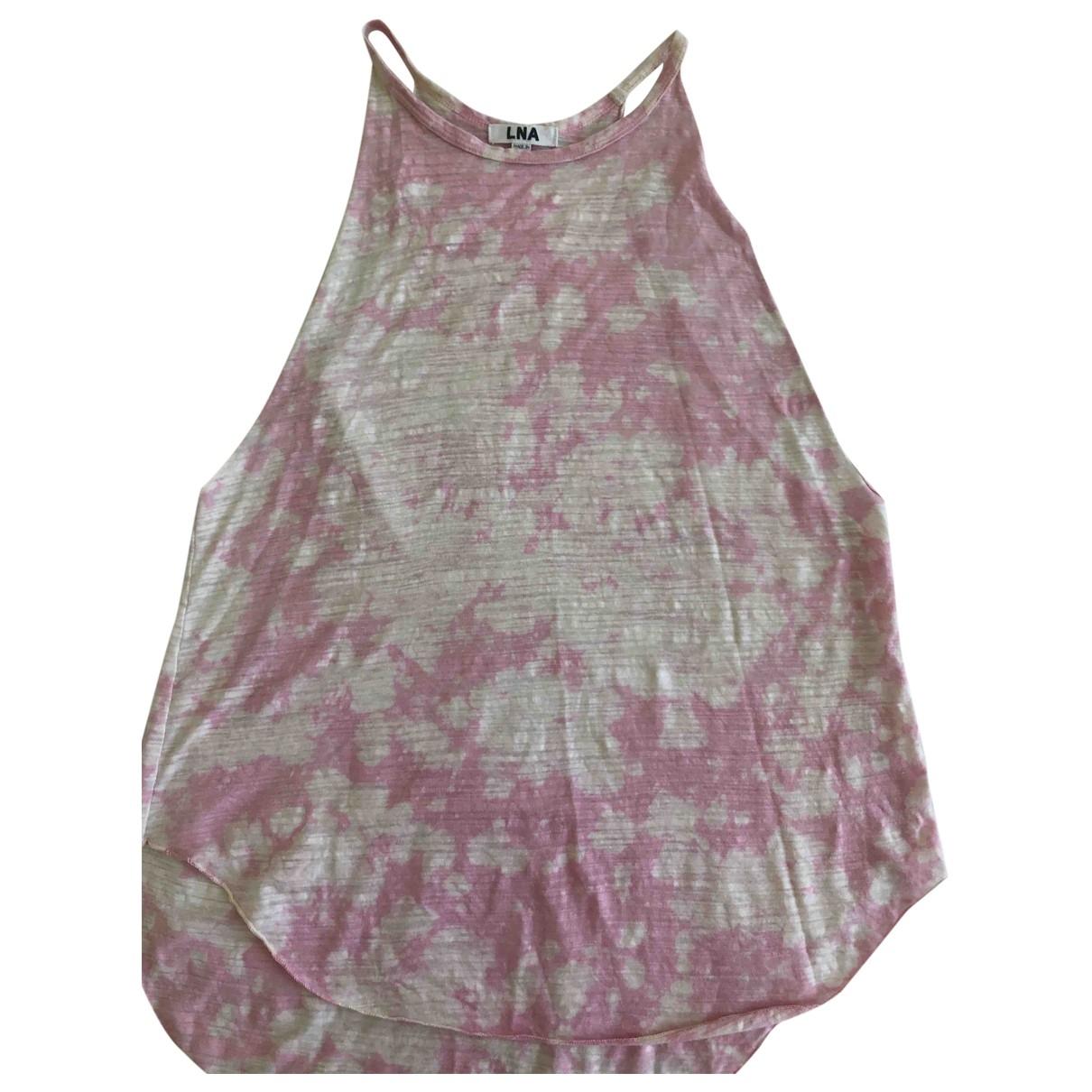 Lna - Top   pour femme - rose