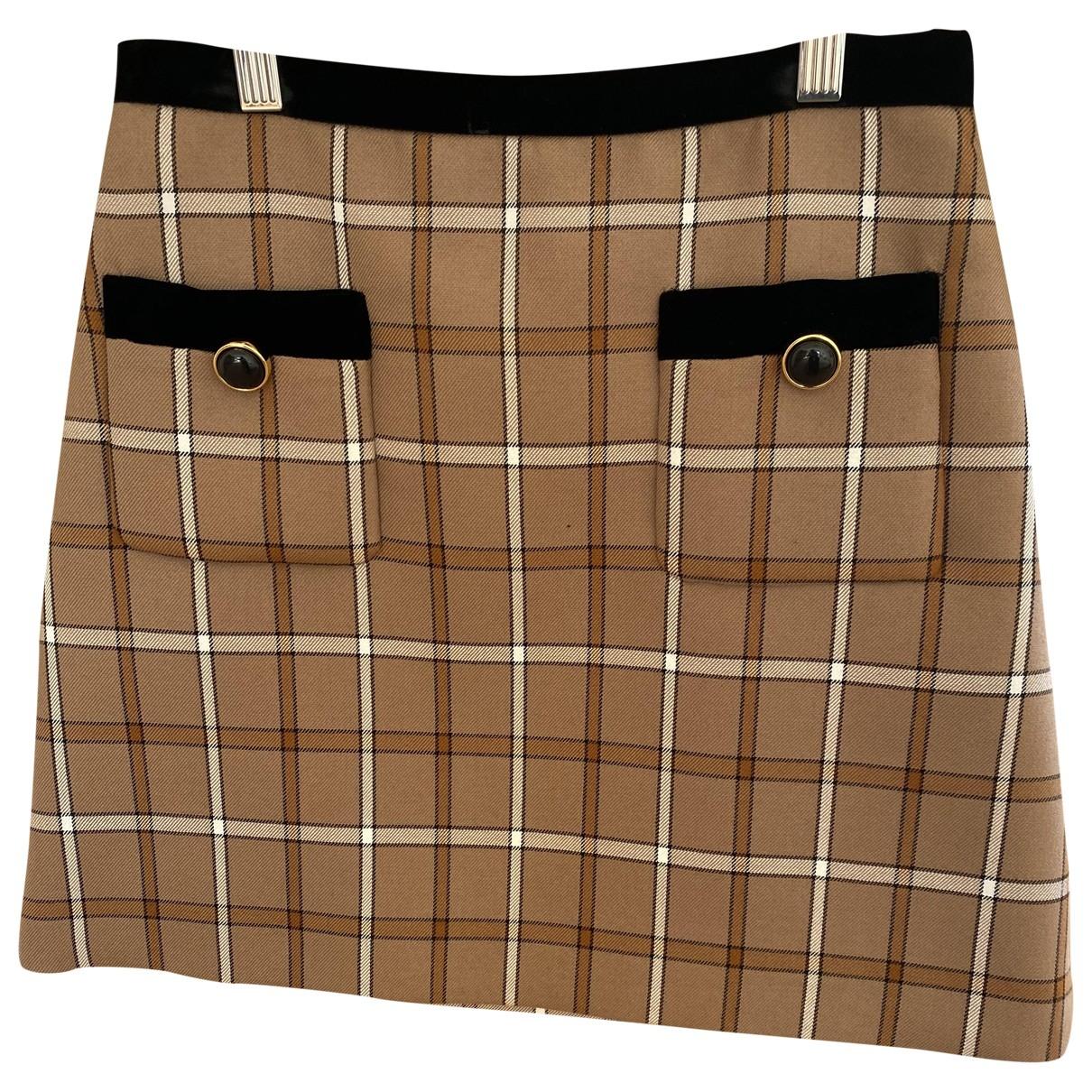 Miu Miu \N Camel skirt for Women 38 IT