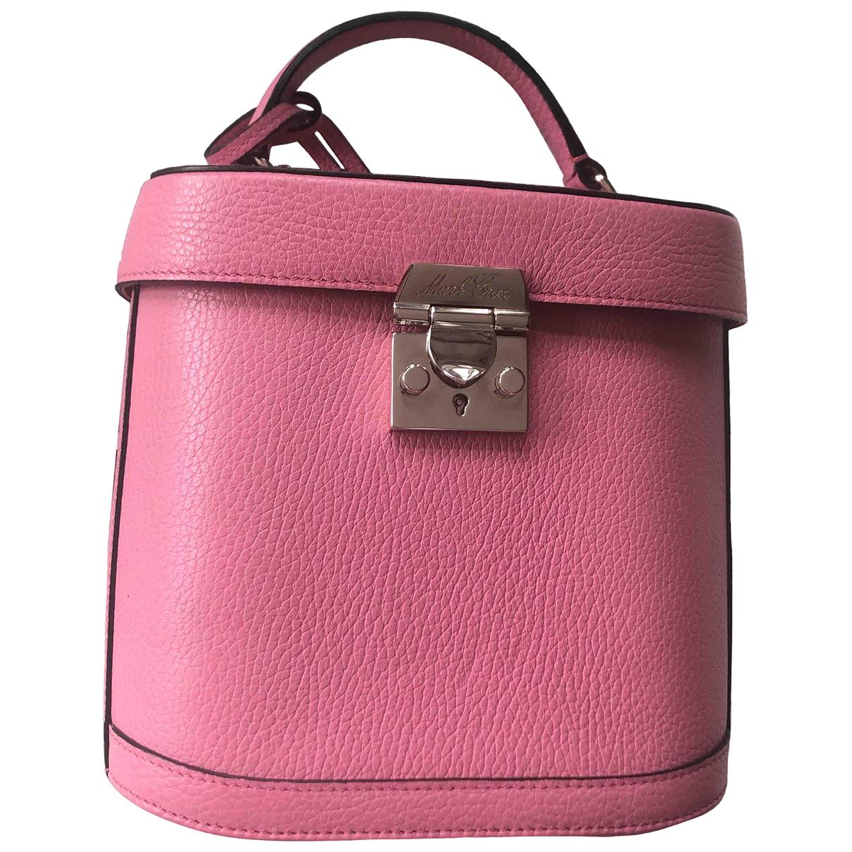 Mark Cross \N Handtasche in  Rosa Leder