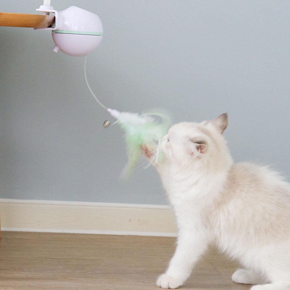 USB Electric Pet Cat Toy LED Laser Funny Cat Stick