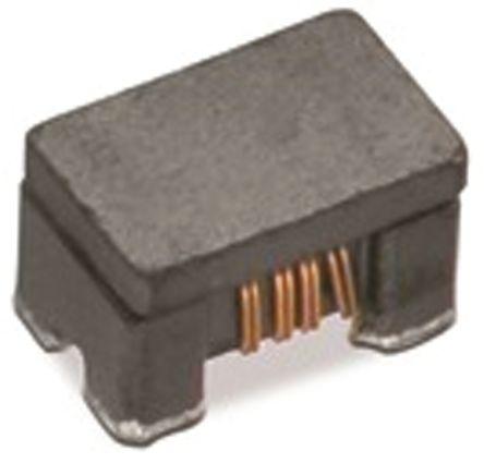Wurth Elektronik Wurth, WE-CNSW HF, 0504 Shielded SMD Common Mode Line Filter with a Ferrite Core, ±25% Dual 500mA Idc