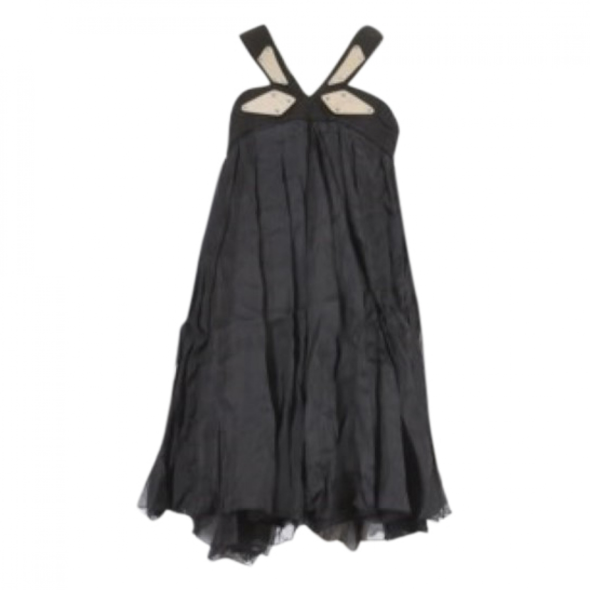 Gucci \N Black Silk dress for Women 40 IT