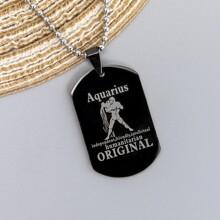 Men Constellation Charm Necklace