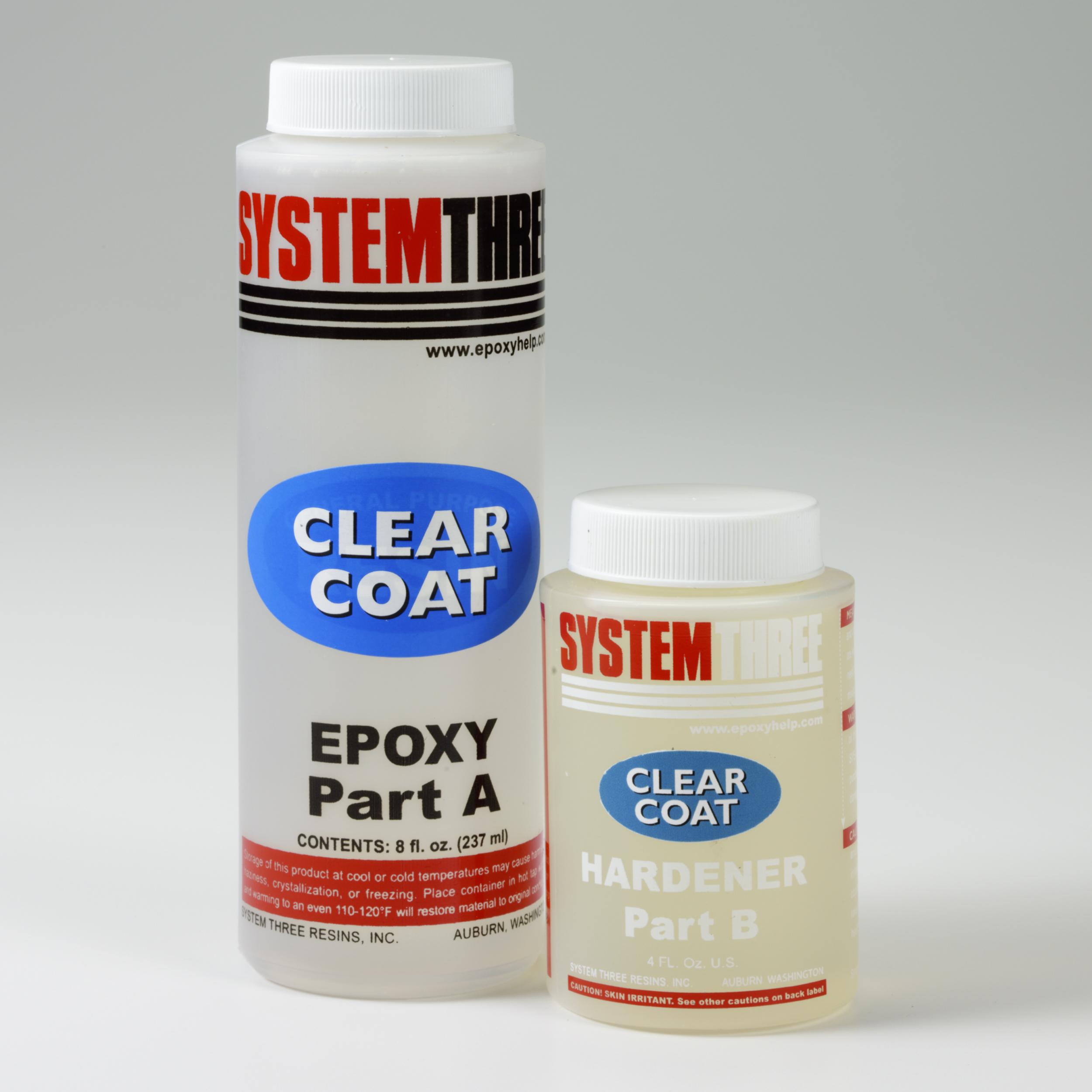Gloss Epoxy ClearCoat 12 oz