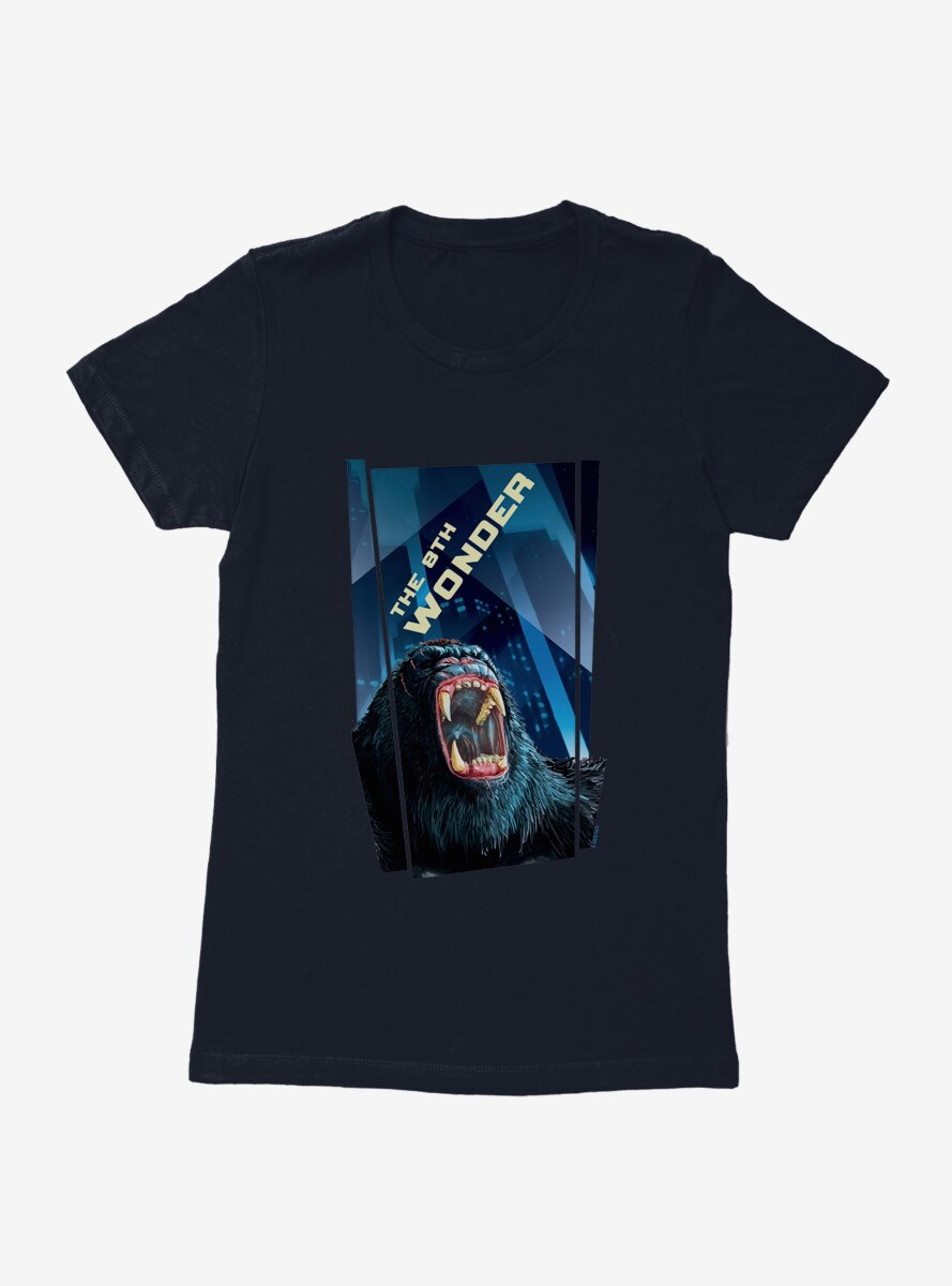 King Kong Battle Roar Womens T-Shirt
