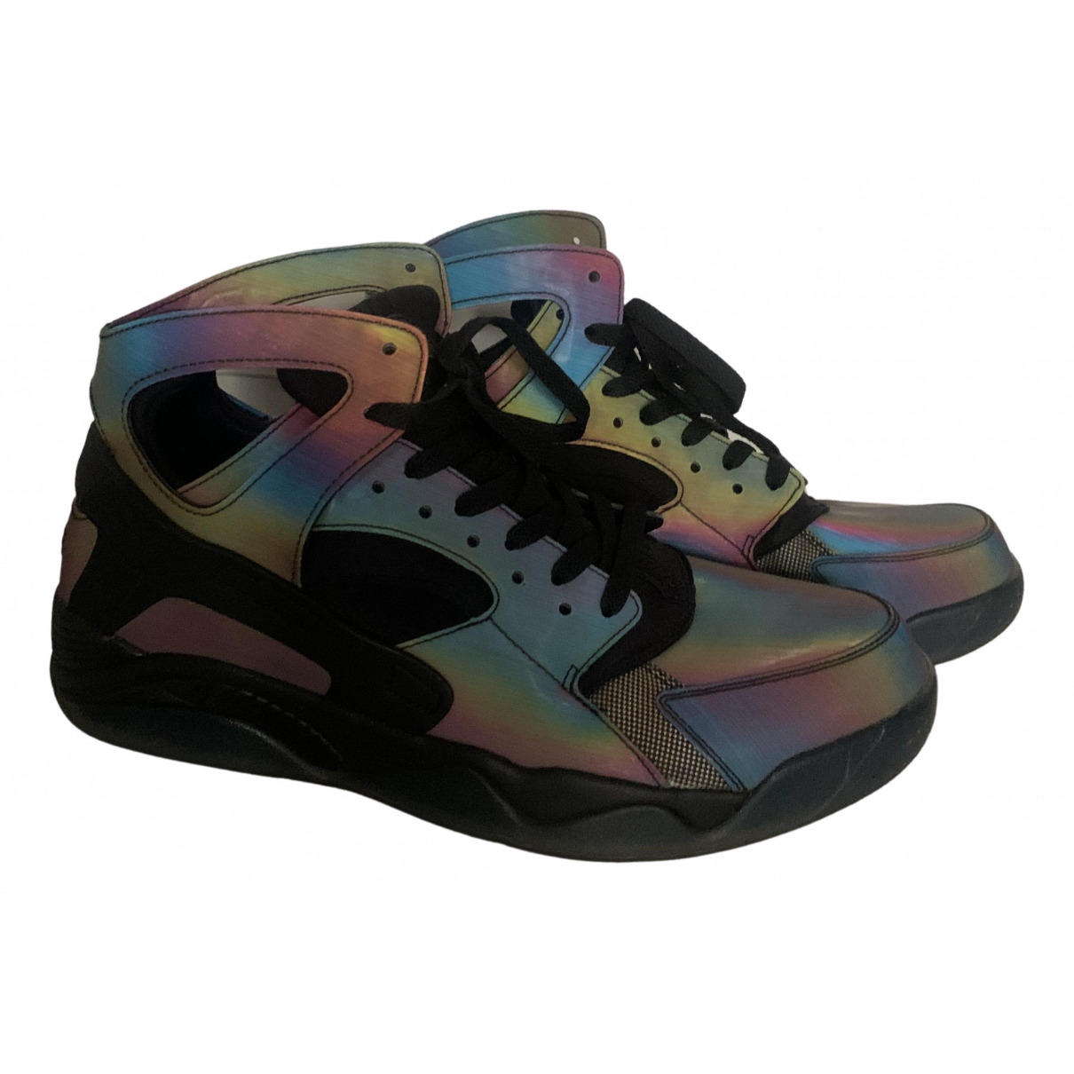 Nike - Baskets Huarache pour homme - metallise
