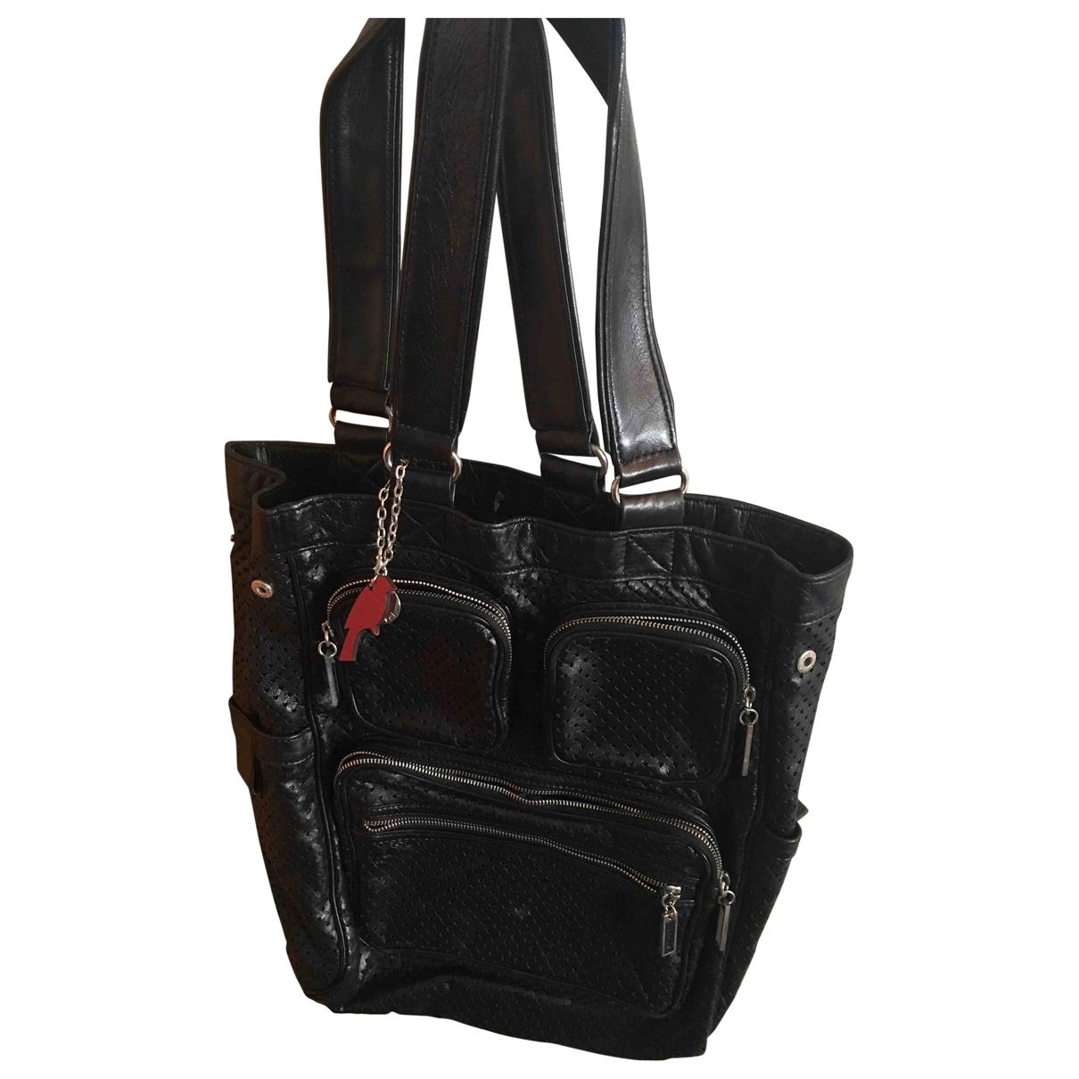 Cacharel \N Black Leather handbag for Women \N