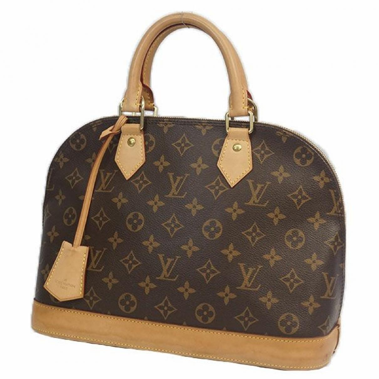 Louis Vuitton Alma Cloth handbag for Women \N