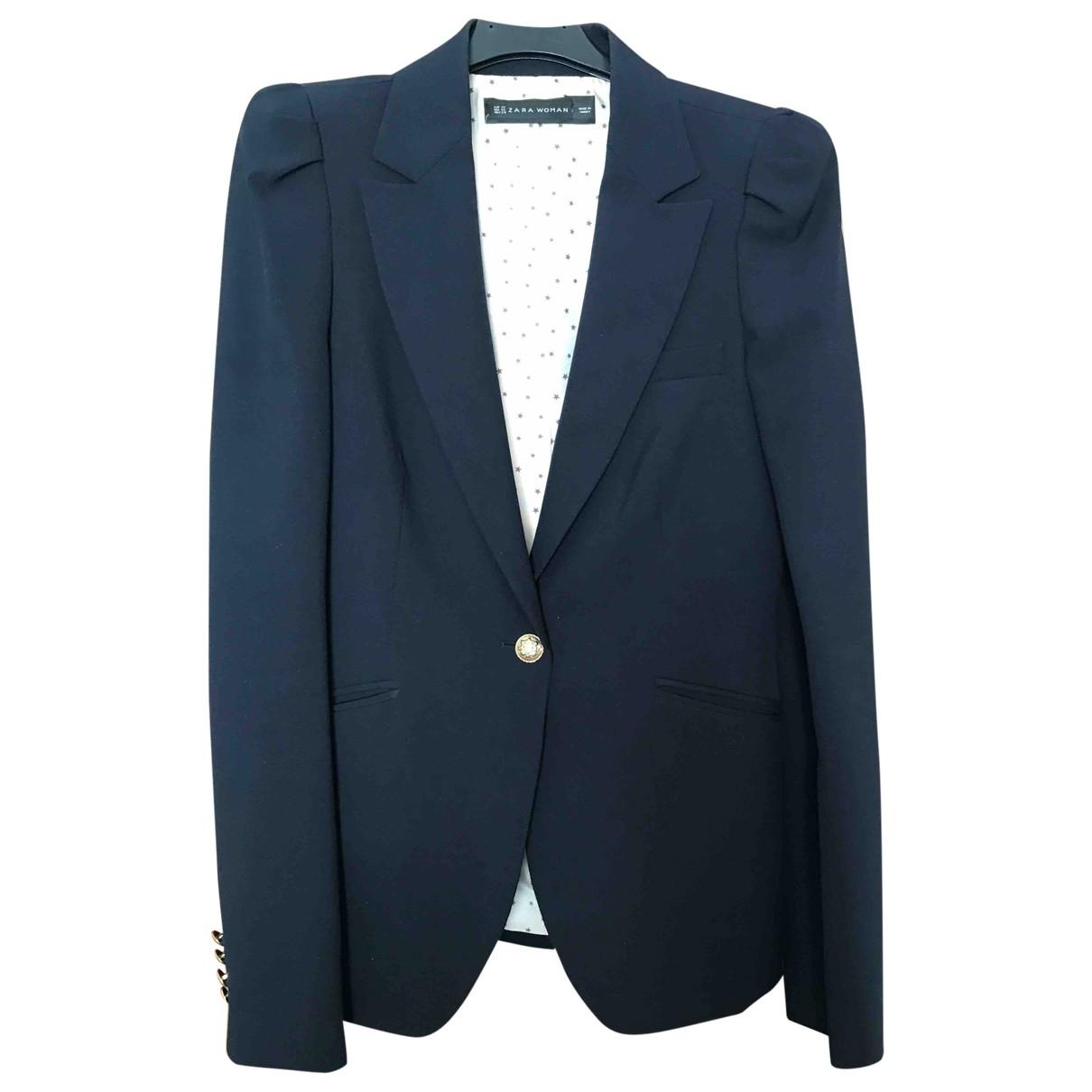 Zara \N Blue jacket for Women XS International