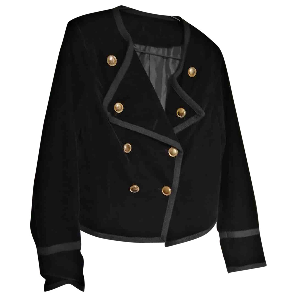 Non Signé / Unsigned \N Black jacket for Women 8 UK