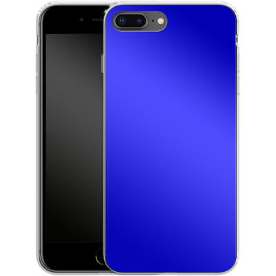 Apple iPhone 7 Plus Silikon Handyhuelle - Test Blue von caseable Designs