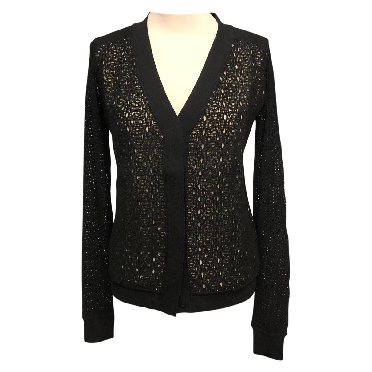 Diane Von Furstenberg \N Black Cotton Knitwear for Women S International
