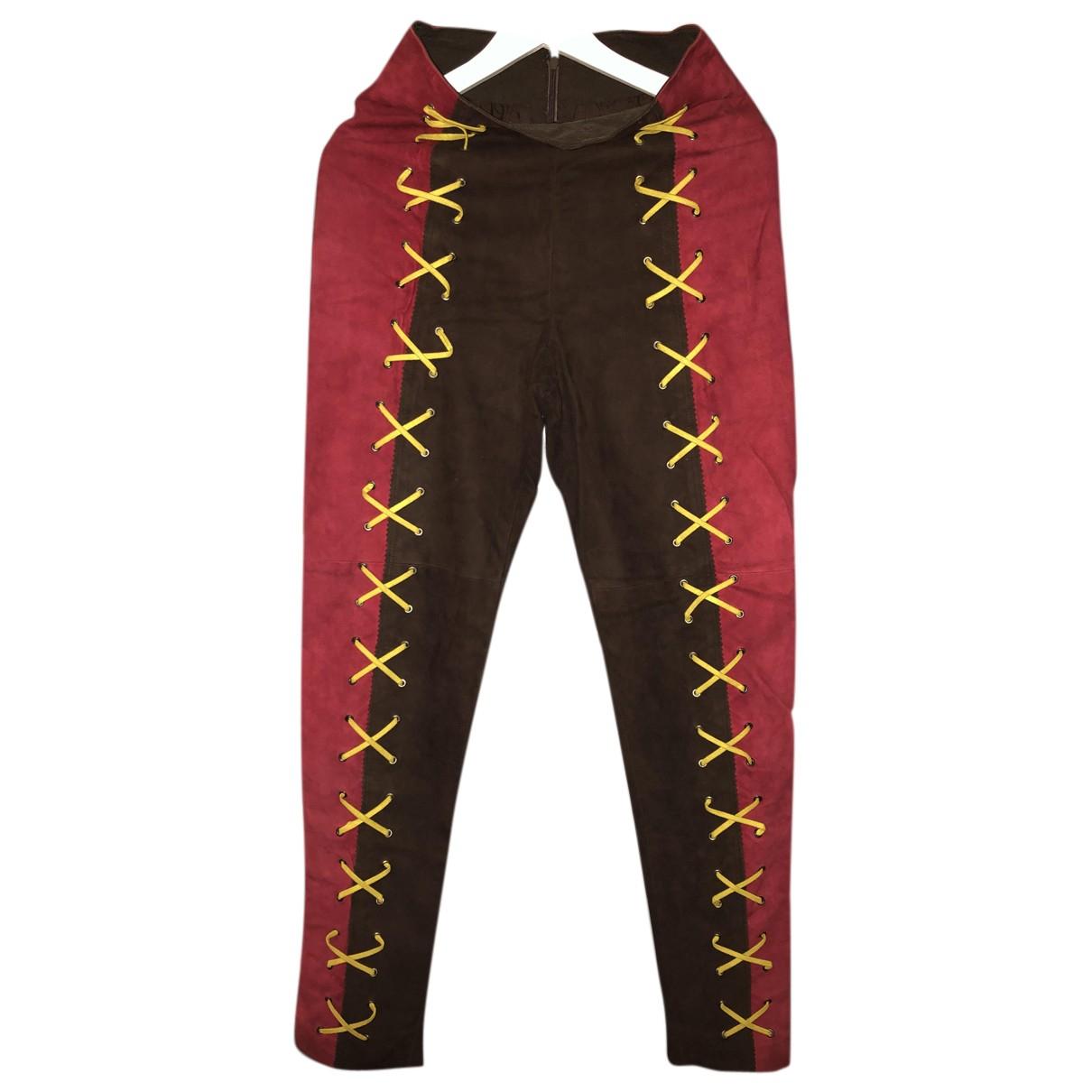 Pantalon de Cuero Hermes