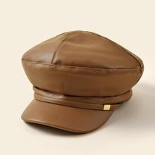 Baeckerjunge Kappe mit Metall Dekor