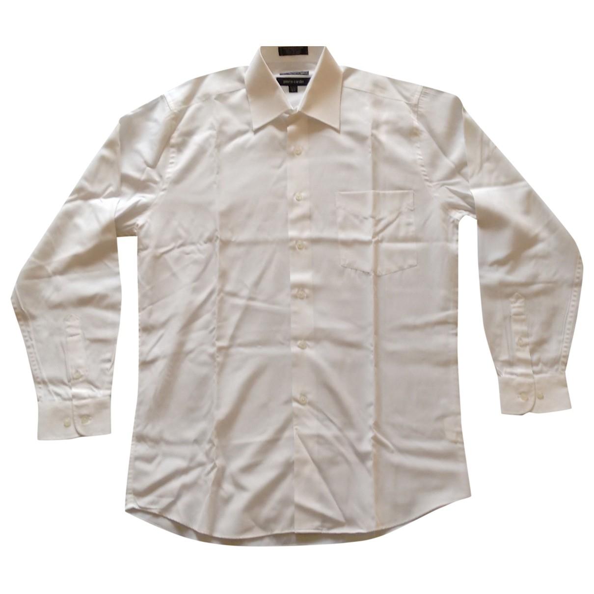 Pierre Cardin - Chemises   pour homme - blanc