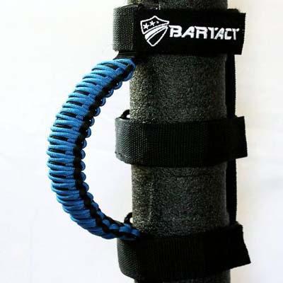 Bartact TAOGHUPBU Paracord Grab Handles Universal Pair Black/Blue