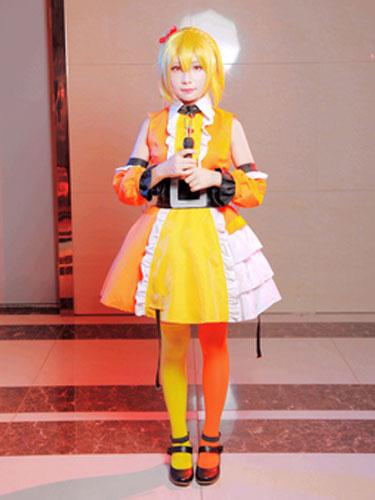 Milanoo Kagerou Project MekakuCity Actors Momo Halloween Cosplay Costume Sports Wear Halloween