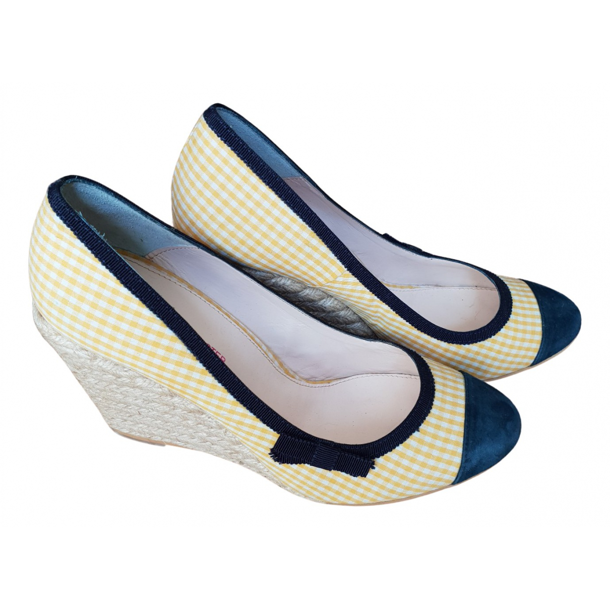 Paul & Joe Sister N Yellow Cloth Sandals for Women 40 EU