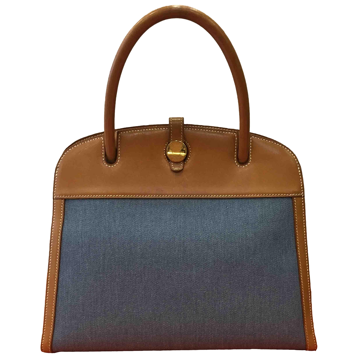 Hermes \N Handtasche in Denim - Jeans