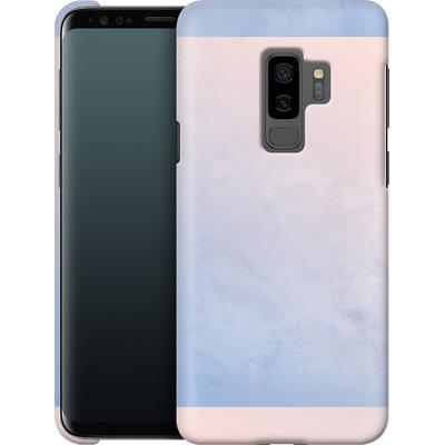 Samsung Galaxy S9 Plus Smartphone Huelle - Serenity Rose Quartz Geometry von Emanuela Carratoni