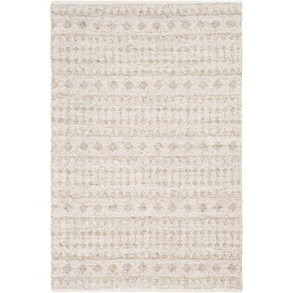 Ingrid ING-2006 2' x 3' Rectangle Global Rug in Metallic - Silver