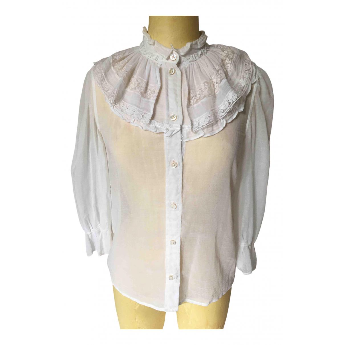 Marc Jacobs - Top   pour femme en coton - blanc