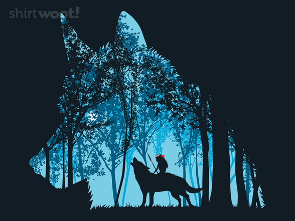 Princess In The Forest T Shirt