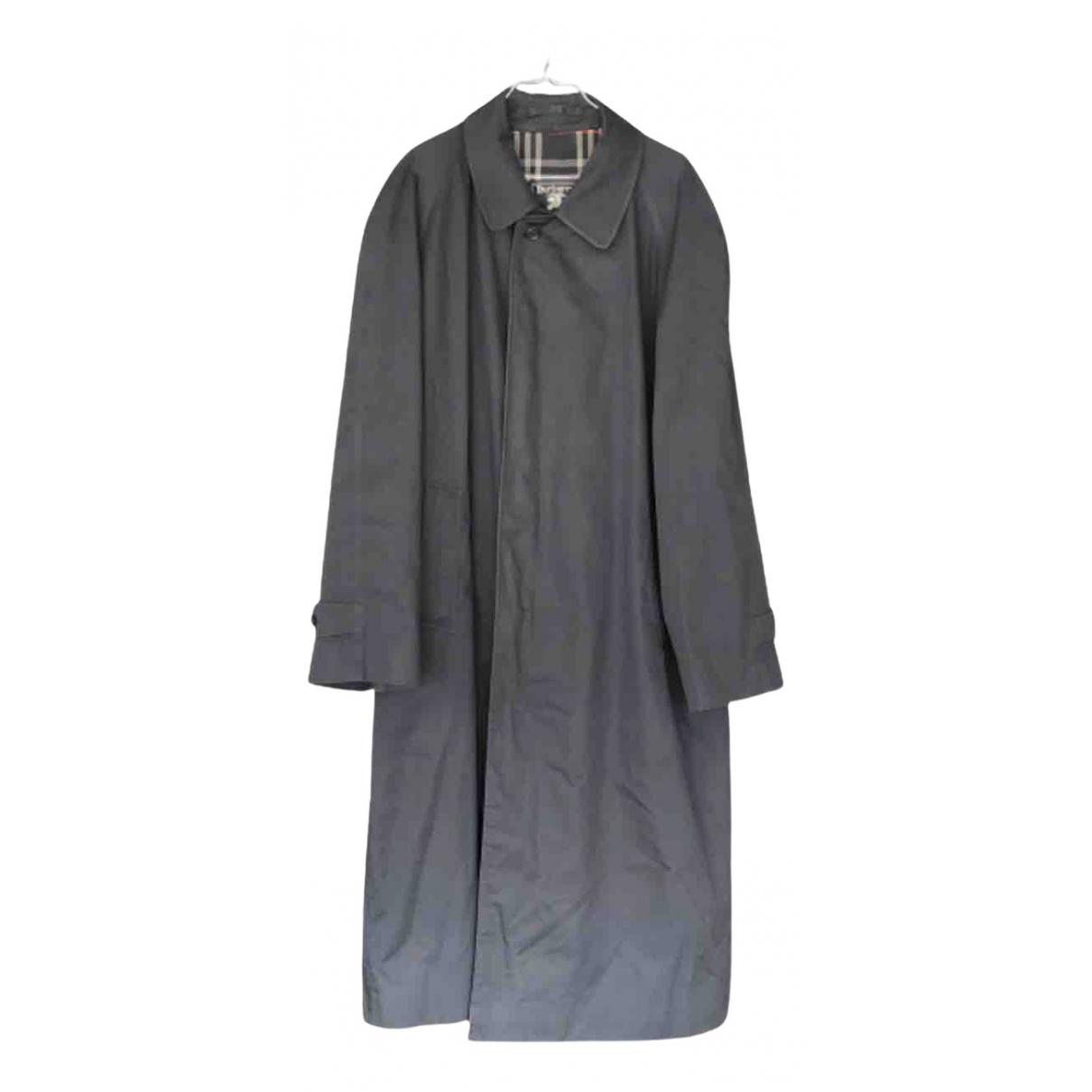 Burberry - Manteau   pour homme - marine